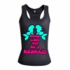 Keep calm and be a mermaid - Hers Racerback