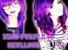 Neon Purple Hair Dye
